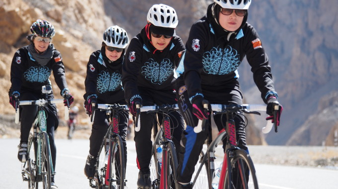 Afghan Women's Cycling Team
