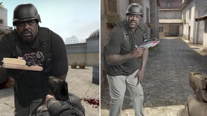Shaquille O'Neal Es Passa Als ESports I Forma Part Del Counter Strike!