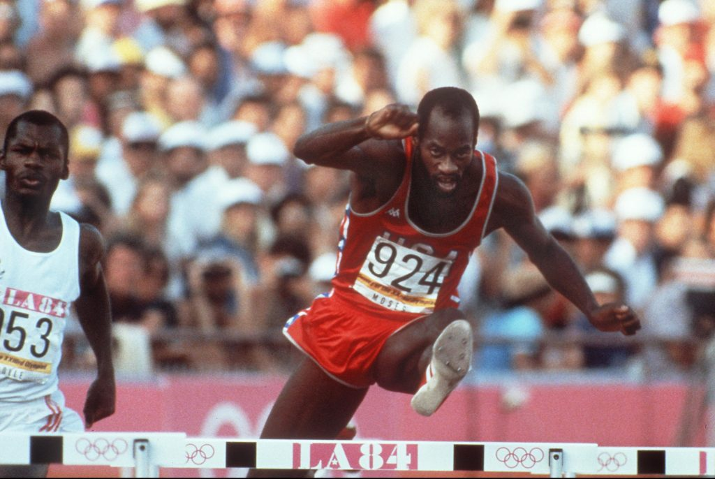 OLY 1984  EDWIN MOSES