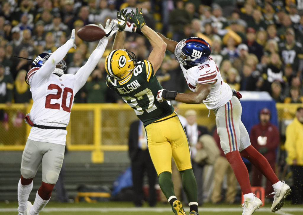 Packers - Giants / Benny Sieu - Usa Today