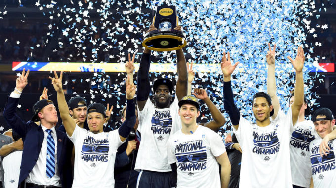 Image: NCAA Basketball: Final Four Championship Game Villanova Vs North Carolina