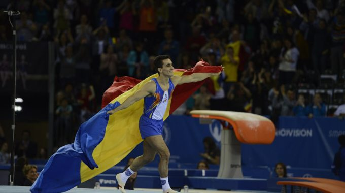 Marian Dragulescu Wins Floor Ccompetition At European Gymnastics Championship