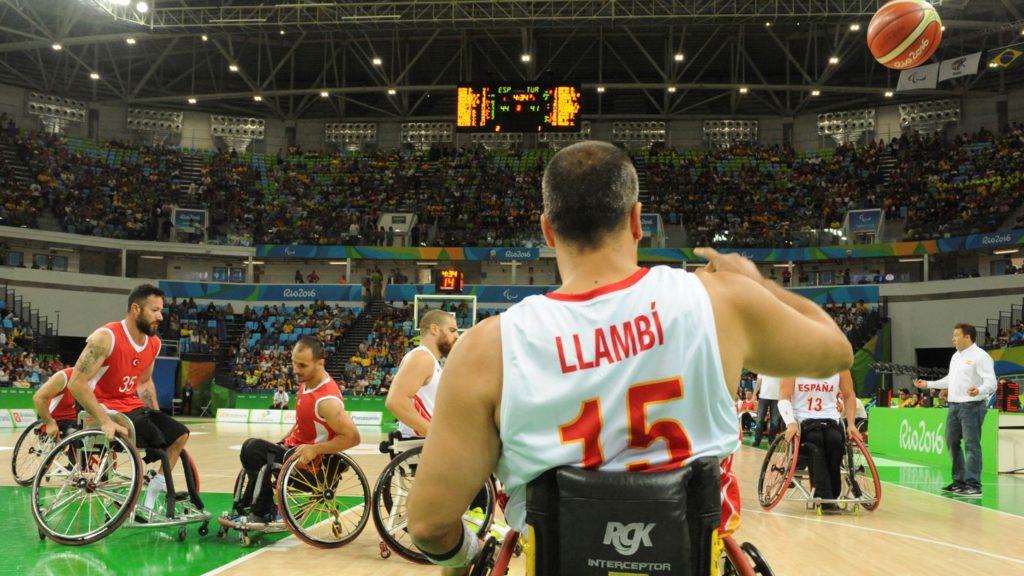 Jaume Llambí, als Jocs de Rio / CPE