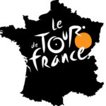 Tour de France 2016 logo with map background hd
