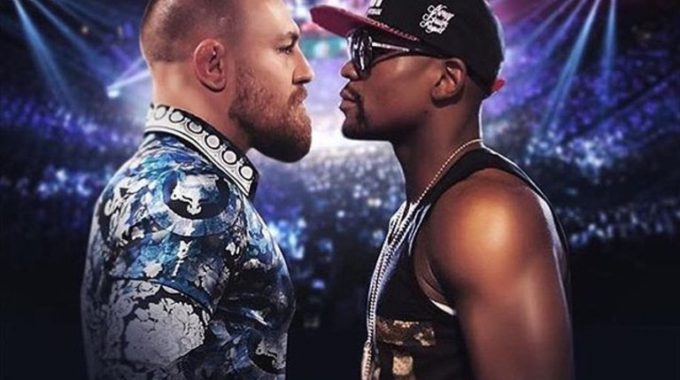 Conor Mcgregor Floyd Mayweather Boxing 3466309