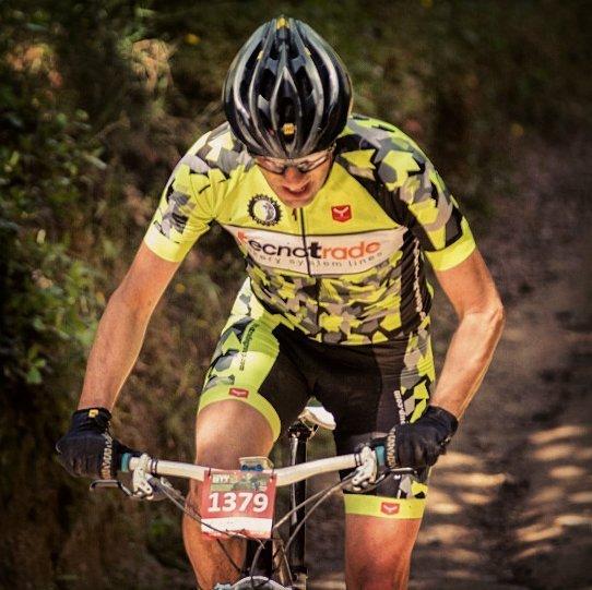 Andreu Rabassa, en ple esforç en una prova prèvia