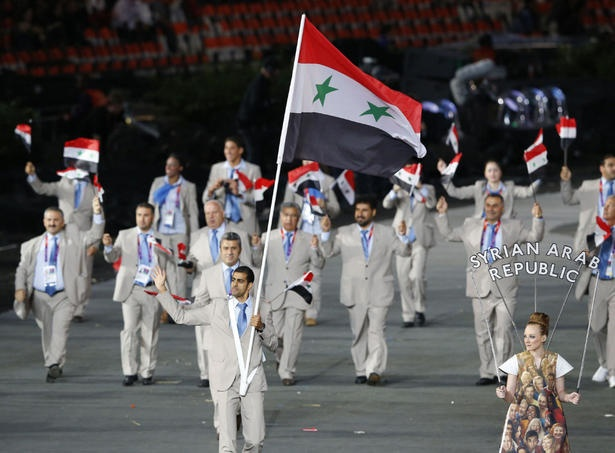 5d7bd6407819d32f0cb5e8ce2463cab1--syria-flag-london-olympic-games