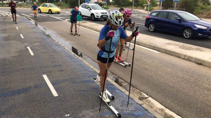 Esquiar A Mallorca En Ple Estiu Diverses Seleccions D'esquí De Fons Trien L'illa Per Preparar La Temporada