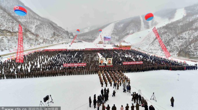 NKOREA POLITICS TOURISM LEISURE SKI
