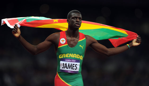 Kirani James (www.olympic.org)