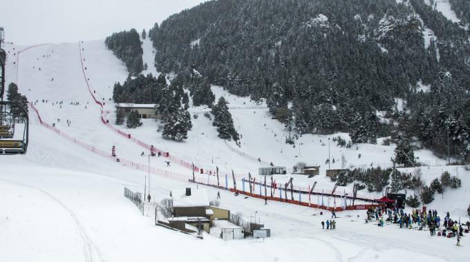La Copa D'Europa D'esquí Alpí Tanca Temporada Amb 4 Proves A La Molina