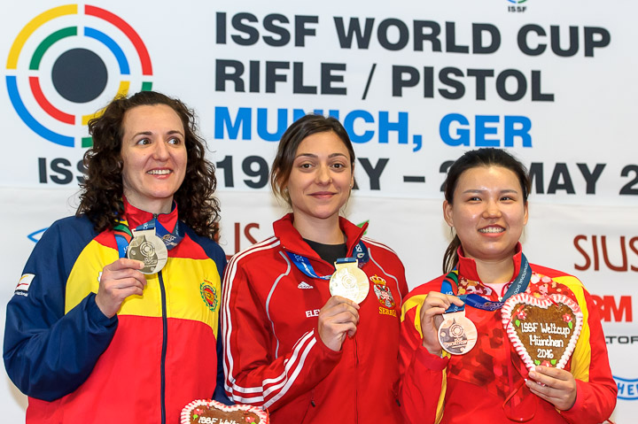 ISSF World Cup Rifle/Pistol 2016 - Munich, GER - Finals 10m Air Pistol Women