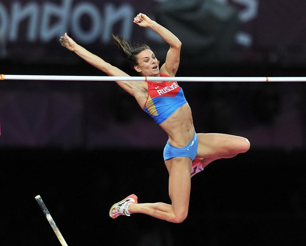 Yelena Isinbayeva London 2012