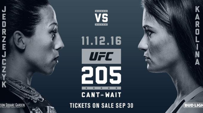 Prèvia UFC 205: Can't Wait