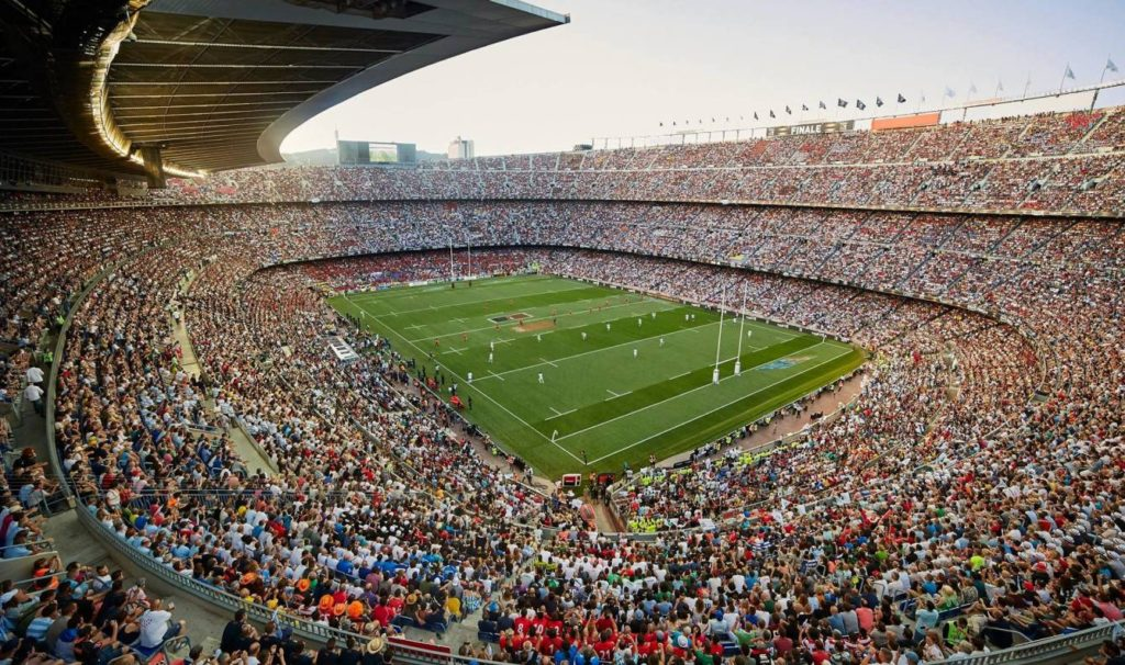 El Camp Nou, ple en l'última final del Top14