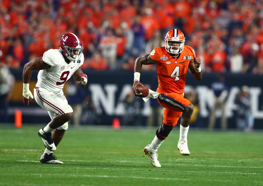 NCAA Football: CFP National Championship-Alabama vs Clemson