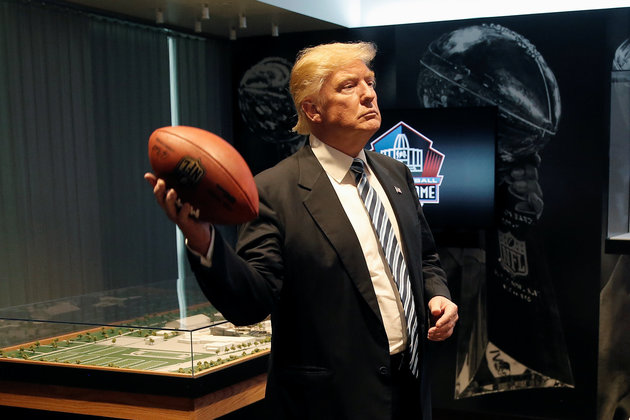 El Trump actual, de moment, no demanda a la NFL / Fotografia: Mike Segar