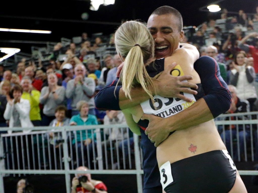 brianne-theisen-eaton-of-team-canada-and-ashton-eaton-of-team-usa-met-at-the-university-of-oregon-and-got-married-in-2013-even-though-they-compete-in-track-and-field-for-different-countries-they-still