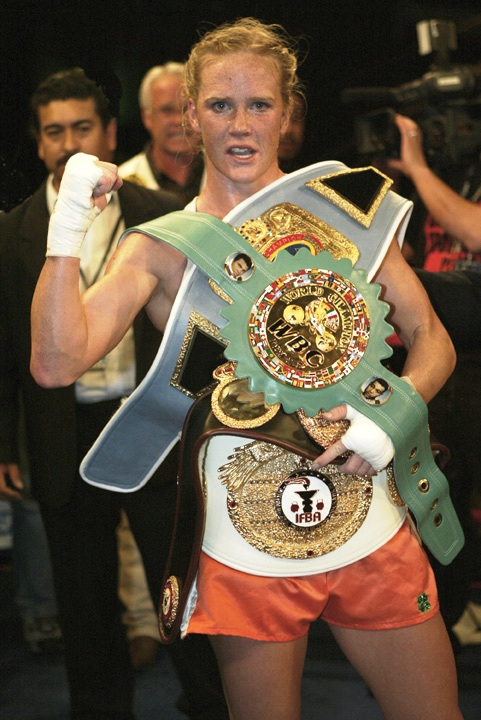 Professional Womens Boxing aired nationally on Fox Sports Net