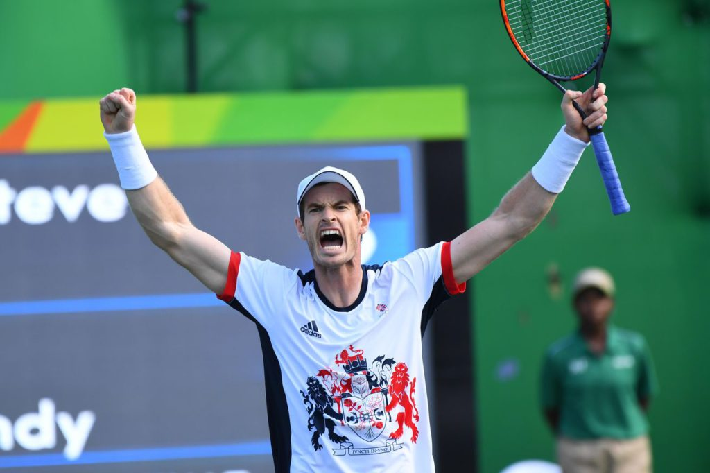 Andy Murray, campió olímpic a Rio 2016