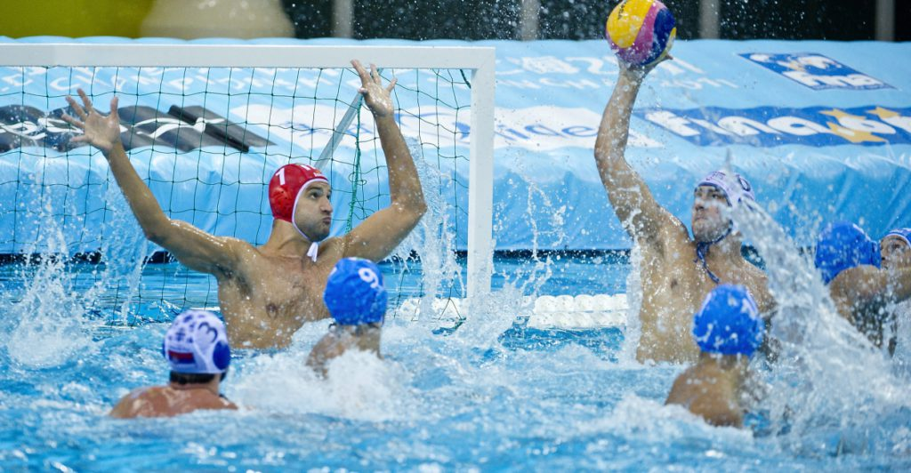 World League game between Serbia and Italy / FINA