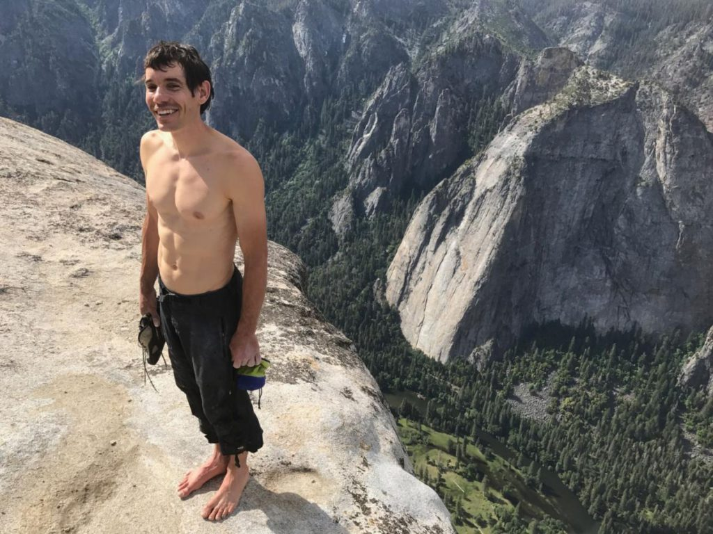 Alex Honnold, després de l'ascensió / Jimmy Chin - National Geographic