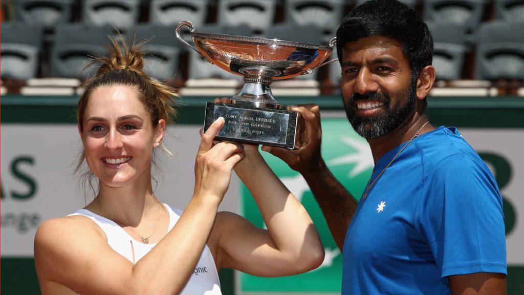 Bopanna, campió dels dobles mixtes a Roland Garros 2017