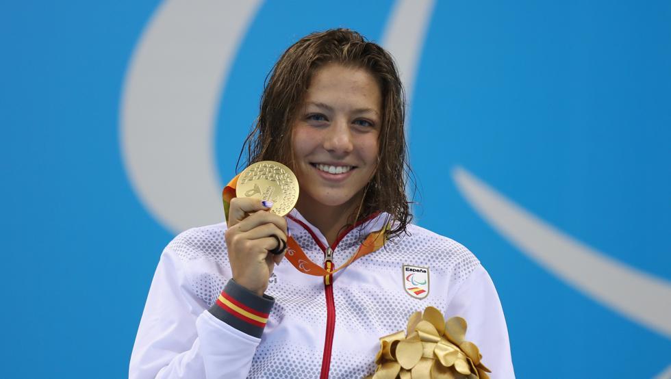 Núria Marquès, campiona paralímpica a Rio en natació