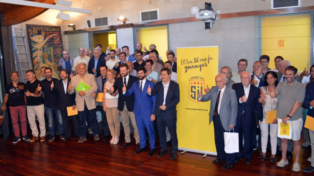 El Comitè Olímpic De Catalunya Pren Partit Pel Sí L'organisme Insta A Votar Sí Al Referèndum Del Proper 1 D'octubre