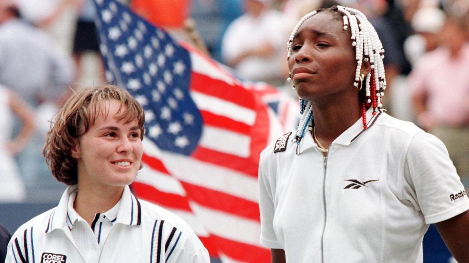 Martina Hingis i Venus Williams, l'any 1997