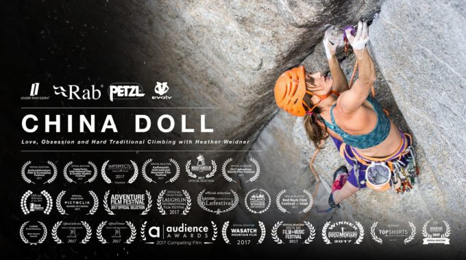 Heather Weidner I La Duresa De L'escalada Clàssica Documental Curt De Jon Glassberg Sobre L'ascensió A China Doll