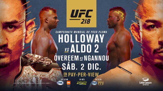 UFC 218: Venerant La Duresa De Detroit Prèvia D'una Nova Vetllada De Les Arts Marcials Mixtes