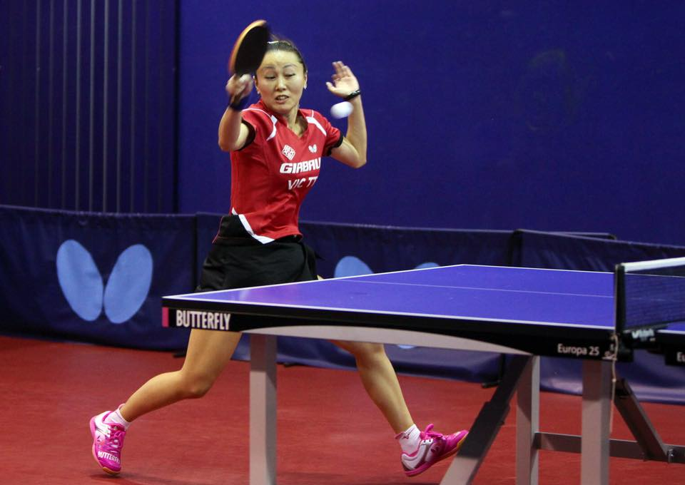 Wang Tingting, en un partit d'aquesta temporada a les files del Vic