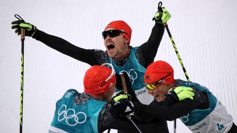 Pyeongchang, Dia 12: Triplet Germànic A La Combinada Martin Fourcade Ja és L'esportista Més Llorejat De Pyeongchang