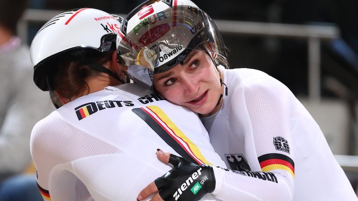 Kristina Vogel: 10 Ors Mundials Després Del Coma La Ciclista Germànica Debuta Al Campionat Del Món D'Apeldoorn Amb Una Nova Victòria