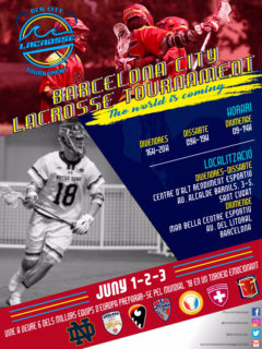 Bcn City Lacrosse Tournament 1-2-3 Juny 2018