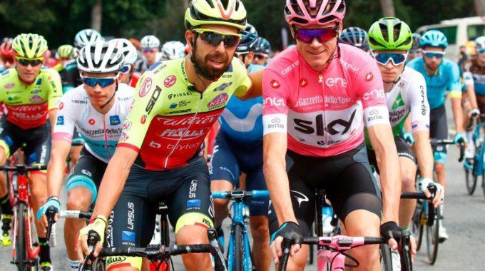 Giuseppe Fonzi, El Ciclista Del Poble L'italià Torna A Endur-se La Maglia Nera Del Giro D'Itàlia