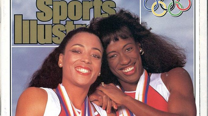 USA Florence Griffith Joyner And Jackie Joyner Kersee, 1988 Summer Olympics