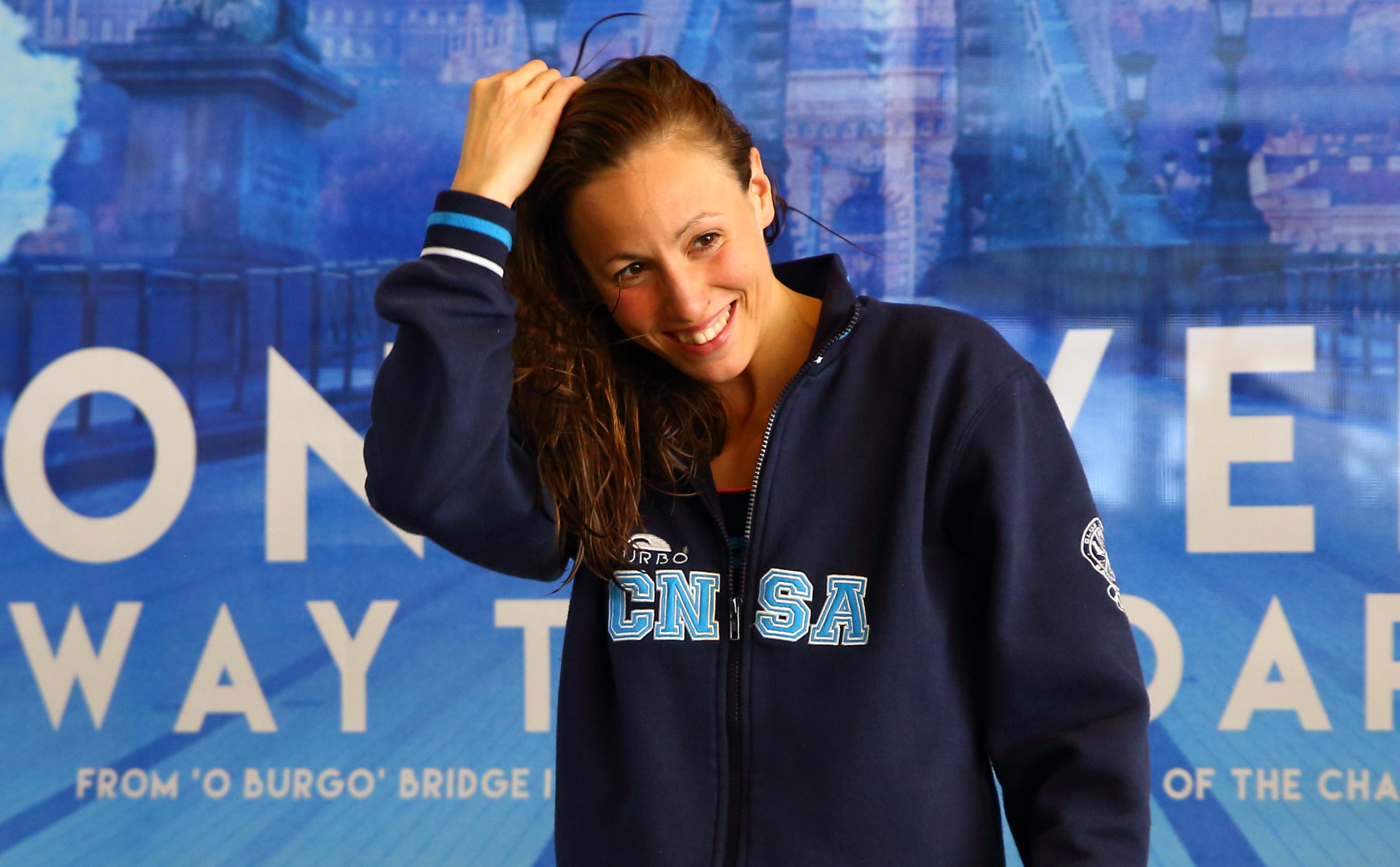 Jessica Vall, Subcampiona D'Europa Als 200 Metres Braça La Nedadora Del CN Sant Andreu Puja Al Podi Continental Per Tercera Vegada