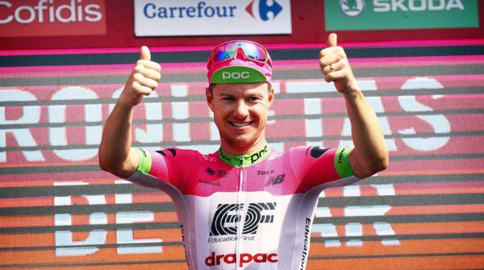 Andorra També Triomfa A La Vuelta A Espanya L'australià Simon Clarke S'endú El Triomf A La Cinquena Etapa