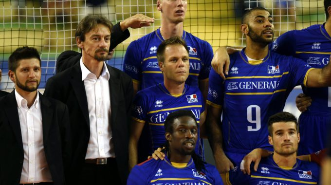 Remi Gaillard Equipe France Volley Ball 2015
