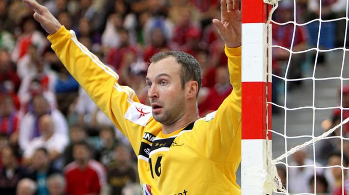 Thierry Omeyer (THW Kiel)   Handball Player Of France (3)
