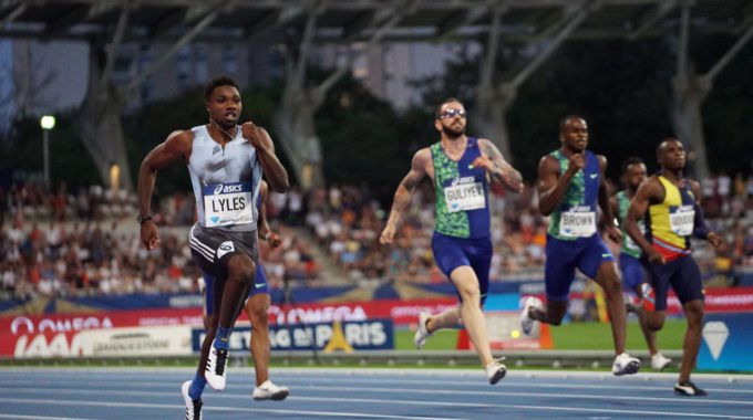 Noah Lyles A La Diamond League