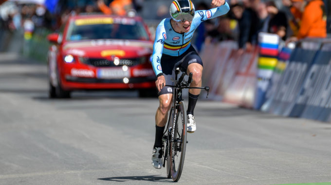 UCI Road World Championships Innsbruck Men Juniors  ITT  Remco Evenepoel – CC