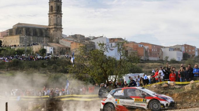 Un Moment Espectacular Del RACCRally Catalunya D'edicions Passades. Foto: RACC