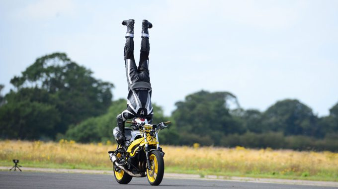 Biker World Handstand Record Elvington York Pa 1300×867
