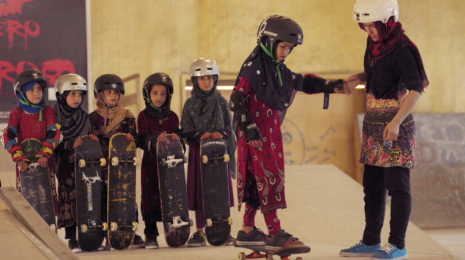 Learning To Skateboard In A Warzone If Youre A Girl