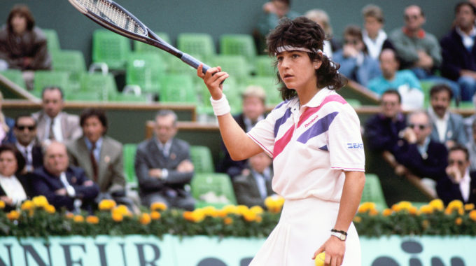 Arantxa Sanchez, Roland Garros 1989, Simple Dames, Finale, Photo : FFT