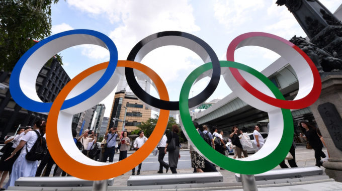 Tokyo Olympic Games One Year To Go, Japan – 24 Jul 2019