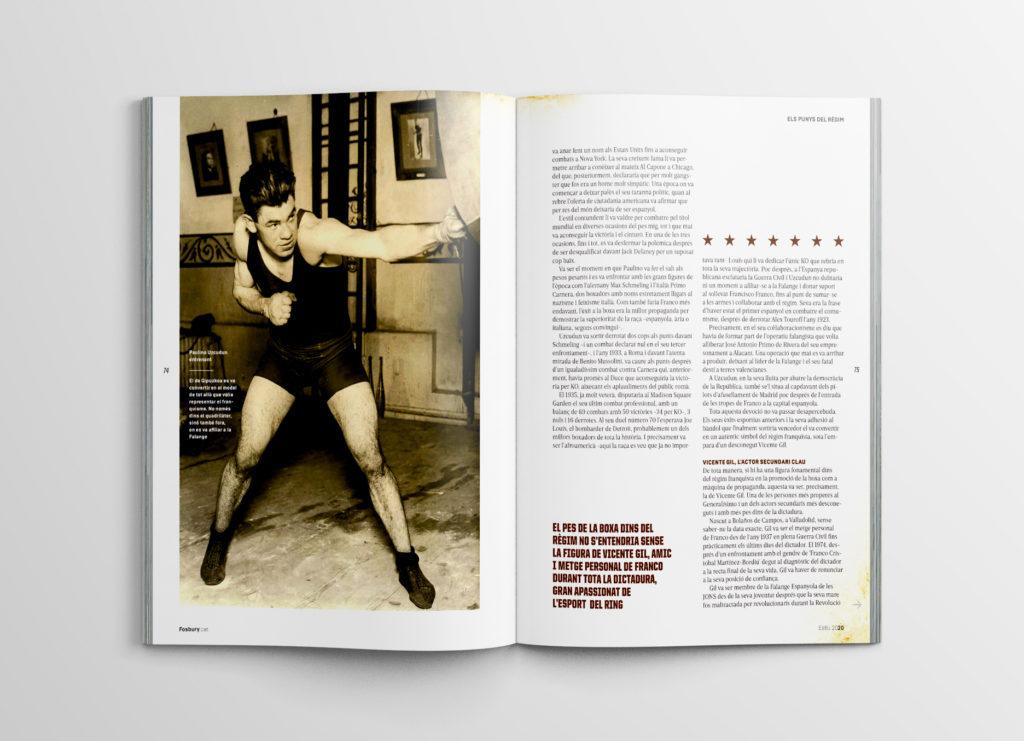 Monogràfic esport i franquisme. Fosbury #36